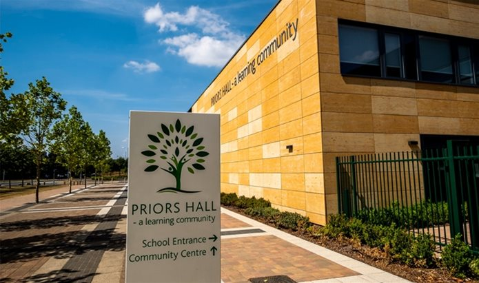 Priors Hall Park's primary school opens